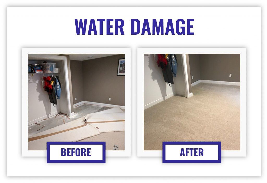 Carpet Water Damage restored